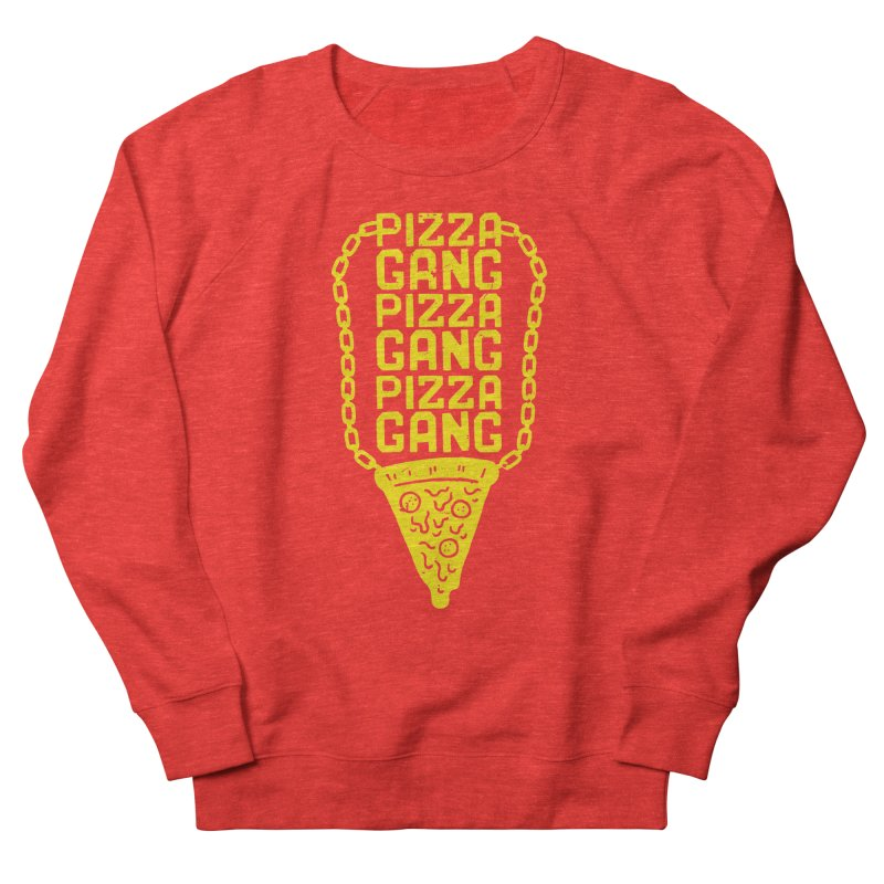 Pizza Gang Pizza Gang Pizza Gang Men's Sweatshirt by Rupertbeard