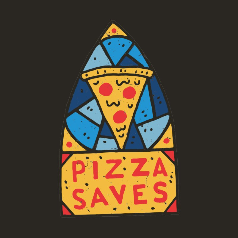 Pizza Saves Men's T-Shirt by Rupertbeard