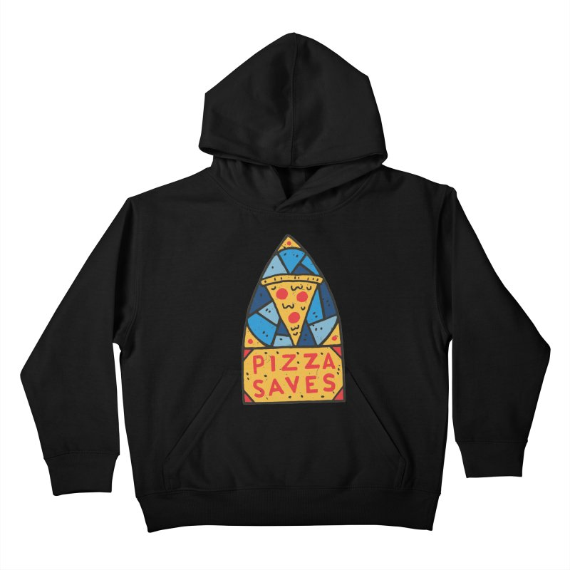 Pizza Saves Kids Pullover Hoody by Rupertbeard