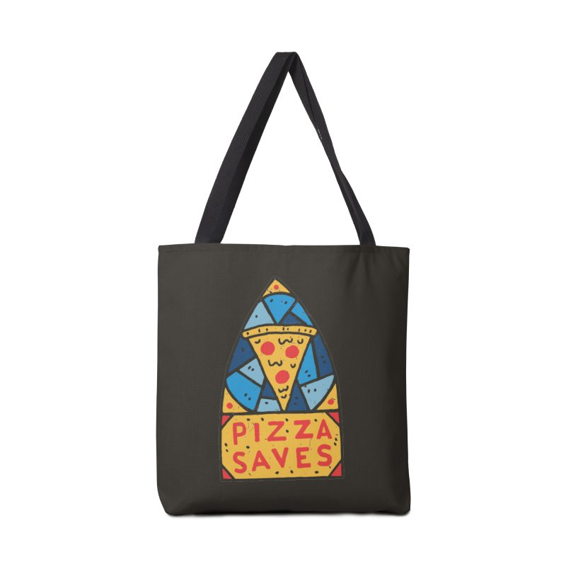 Pizza Saves Accessories Tote Bag Bag by Rupertbeard