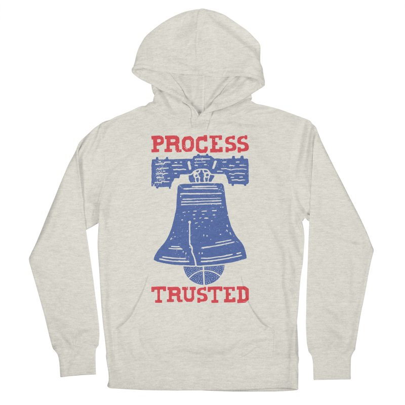 Process Trusted Men's French Terry Pullover Hoody by Rupertbeard