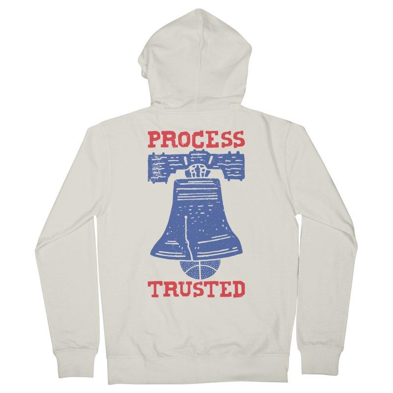 Process Trusted Men's Zip-Up Hoody by Rupertbeard