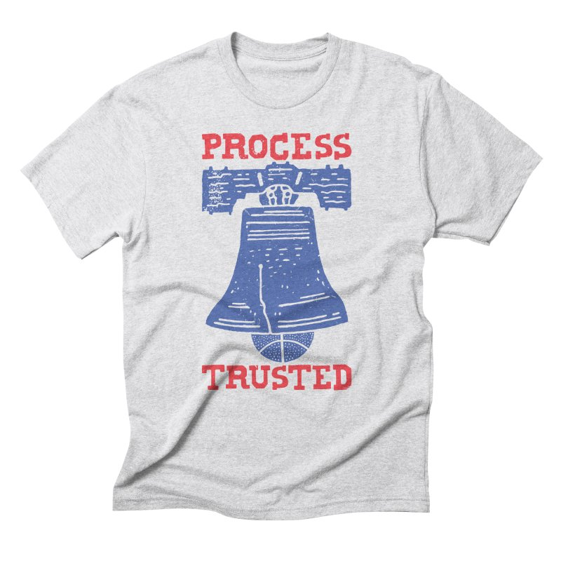 Process Trusted Men's Triblend T-Shirt by Rupertbeard