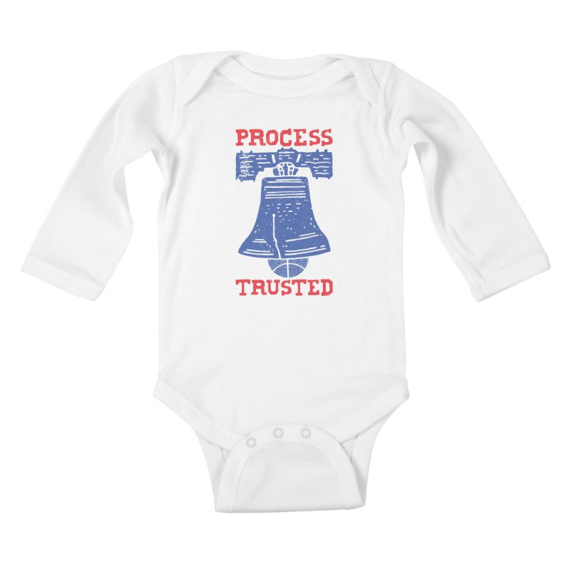 Process Trusted Kids Baby Longsleeve Bodysuit by Rupertbeard