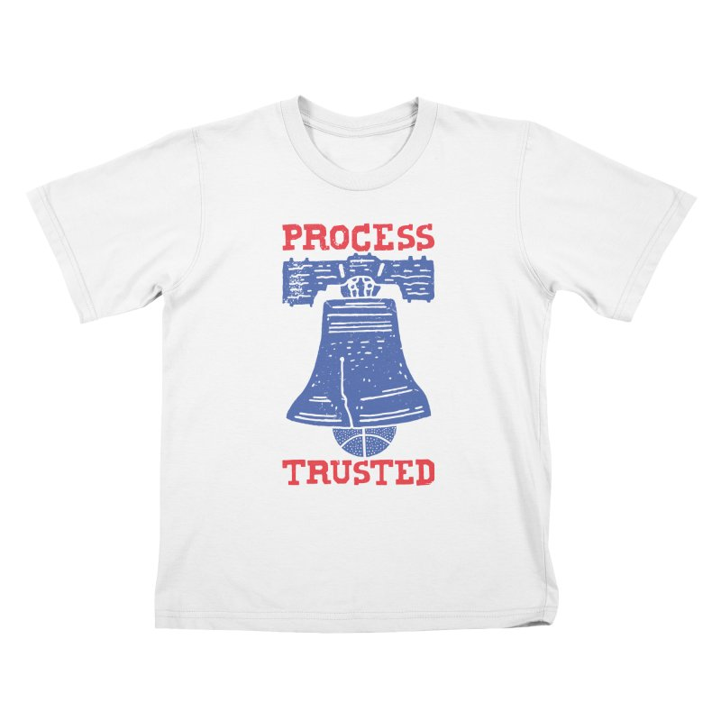 Process Trusted Kids T-Shirt by Rupertbeard