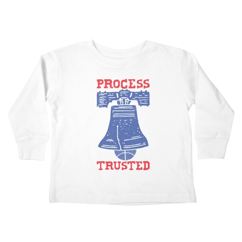 Process Trusted Kids Toddler Longsleeve T-Shirt by Rupertbeard