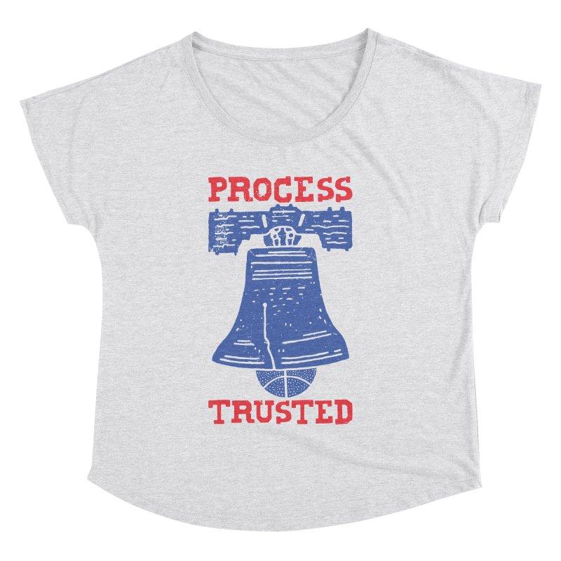 Process Trusted Women's Dolman Scoop Neck by Rupertbeard
