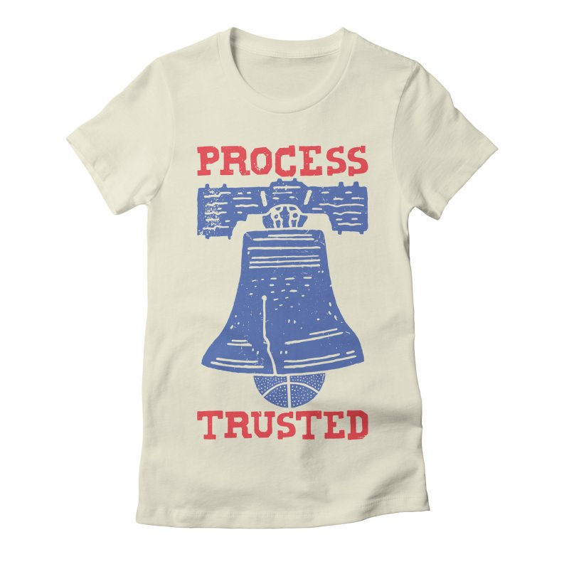 Process Trusted Women's Fitted T-Shirt by Rupertbeard