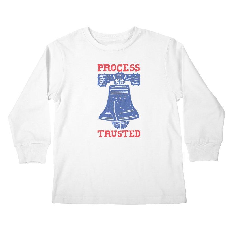 Process Trusted Kids Longsleeve T-Shirt by Rupertbeard