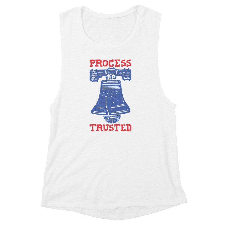 Process Trusted Women's Muscle Tank by Rupertbeard