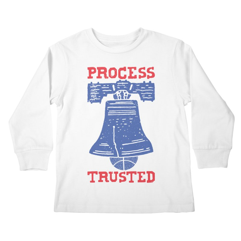 Process Trusted Kids Longsleeve T-Shirt by Rupertbeard