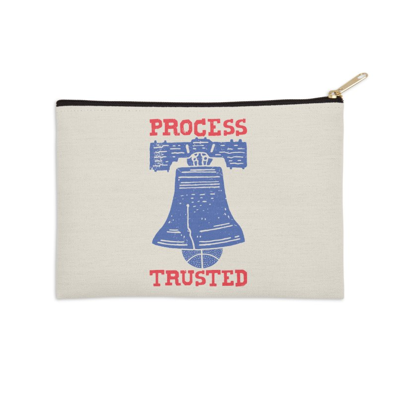 Process Trusted Accessories Zip Pouch by Rupertbeard