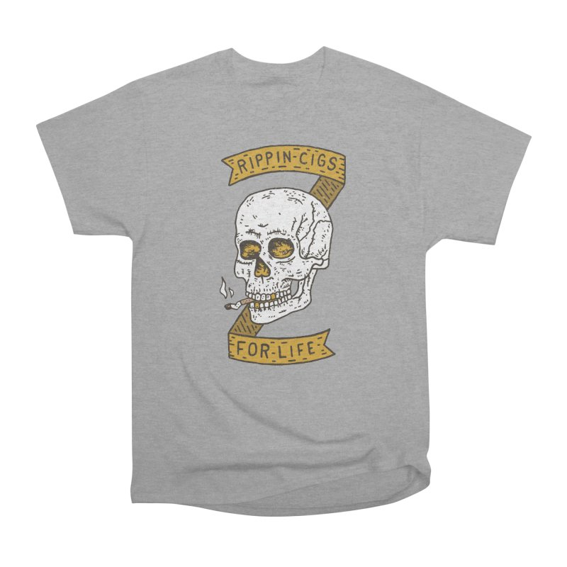Rippin Cigs For Life Men's T-Shirt by Rupertbeard
