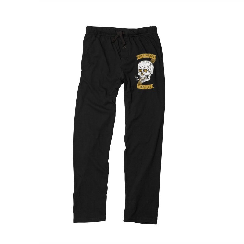 Rippin Cigs For Life Men's Lounge Pants by Rupertbeard