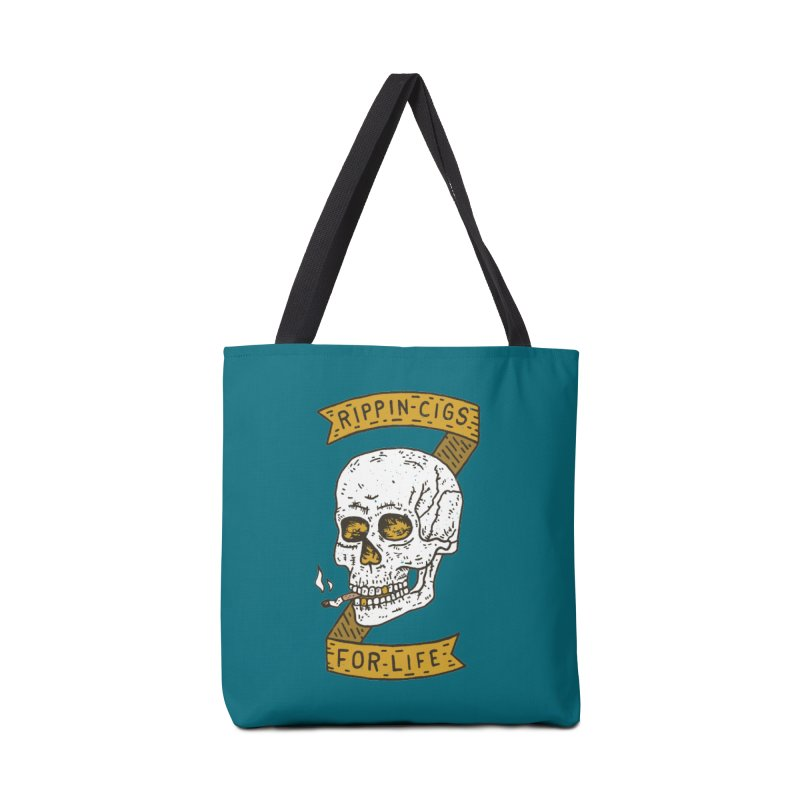 Rippin Cigs For Life Accessories Tote Bag Bag by Rupertbeard