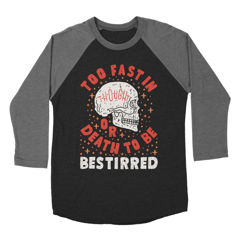 Too Fast In Thought Women's Baseball Triblend Longsleeve T-Shirt by Rupertbeard