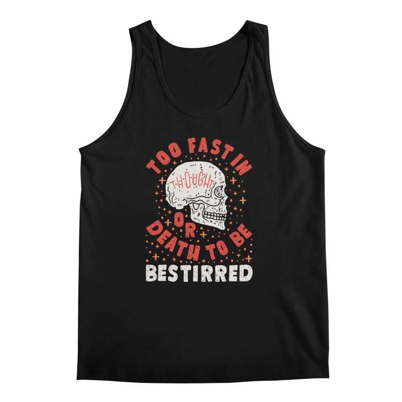 Too Fast In Thought Men's Regular Tank by Rupertbeard