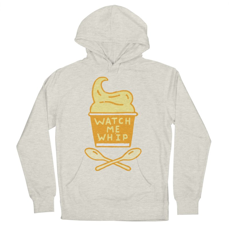 Watch Me Whip Women's French Terry Pullover Hoody by Rupertbeard