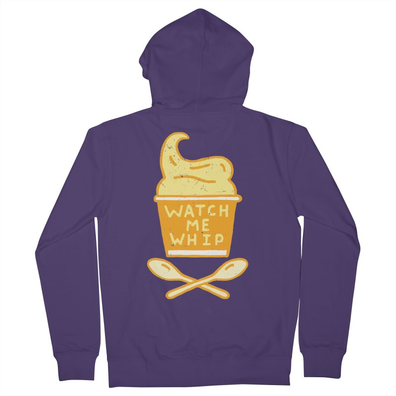 Watch Me Whip Women's French Terry Zip-Up Hoody by Rupertbeard