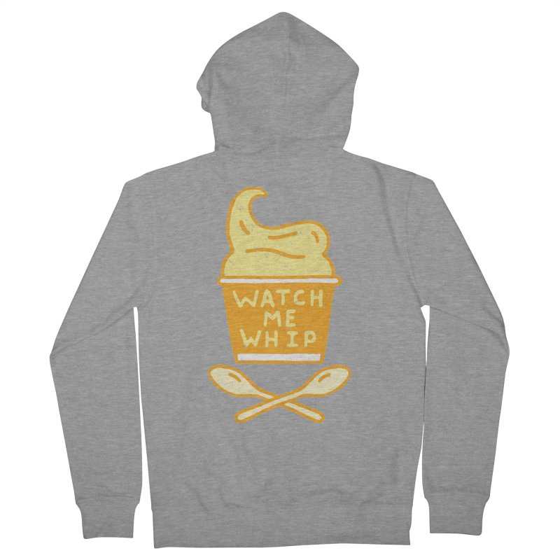 Watch Me Whip Men's French Terry Zip-Up Hoody by Rupertbeard