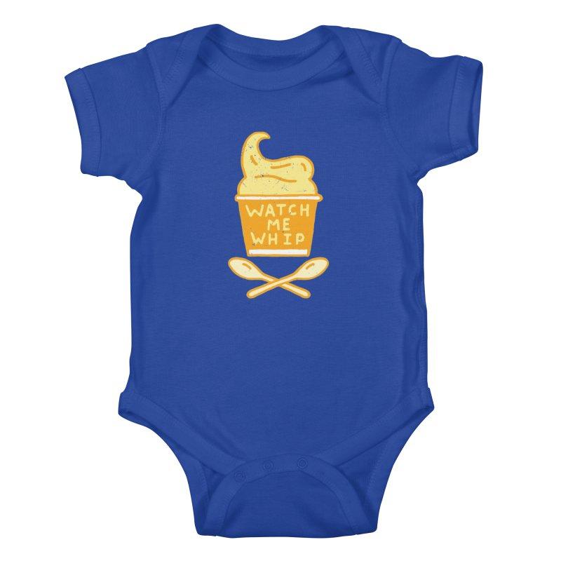 Watch Me Whip Kids Baby Bodysuit by Rupertbeard