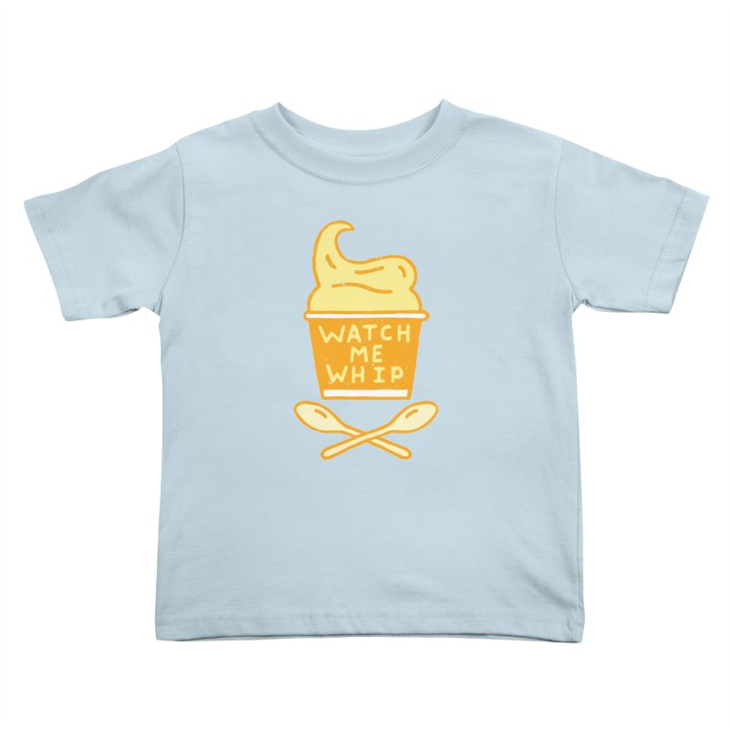 Watch Me Whip Kids Toddler T-Shirt by Rupertbeard