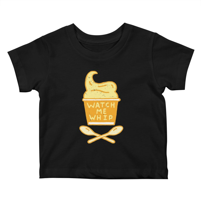 Watch Me Whip Kids Baby T-Shirt by Rupertbeard