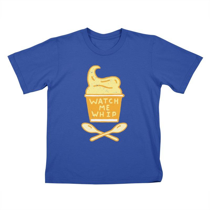 Watch Me Whip Kids T-Shirt by Rupertbeard