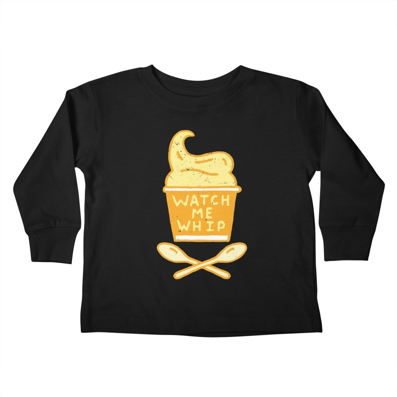 Watch Me Whip Kids Toddler Longsleeve T-Shirt by Rupertbeard