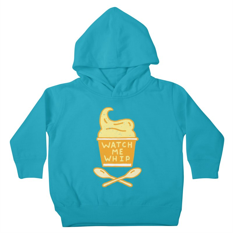 Watch Me Whip Kids Toddler Pullover Hoody by Rupertbeard