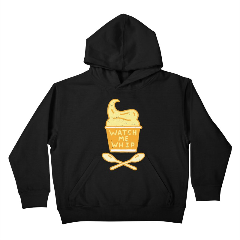 Watch Me Whip Kids Pullover Hoody by Rupertbeard