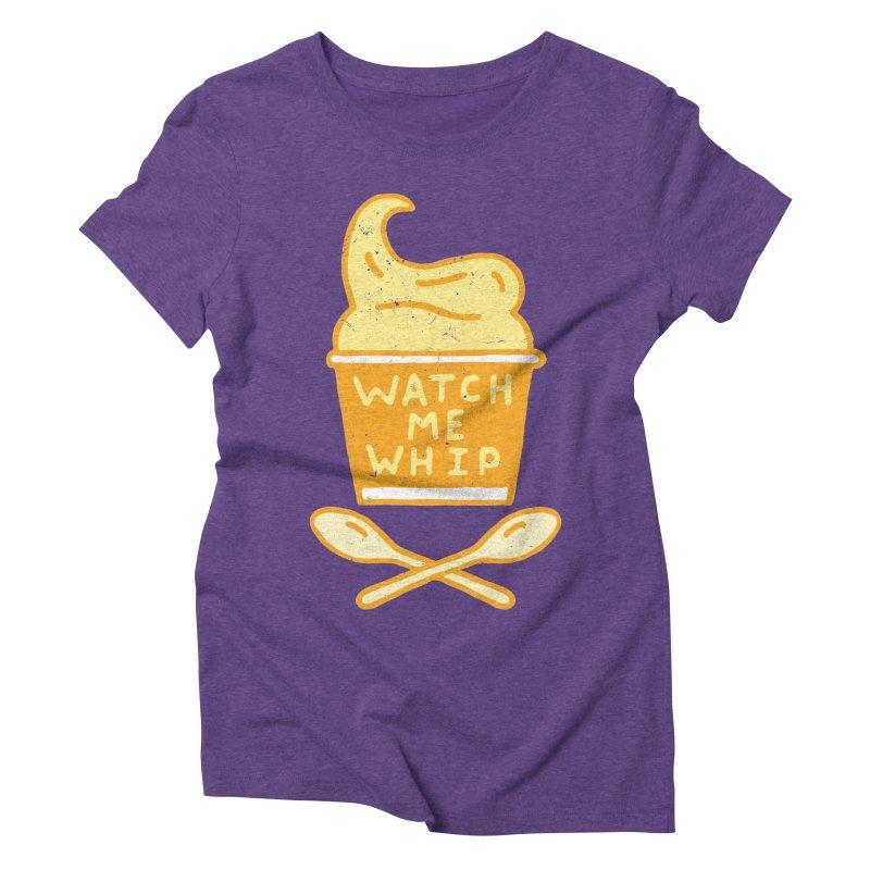 Watch Me Whip Women's Triblend T-Shirt by Rupertbeard