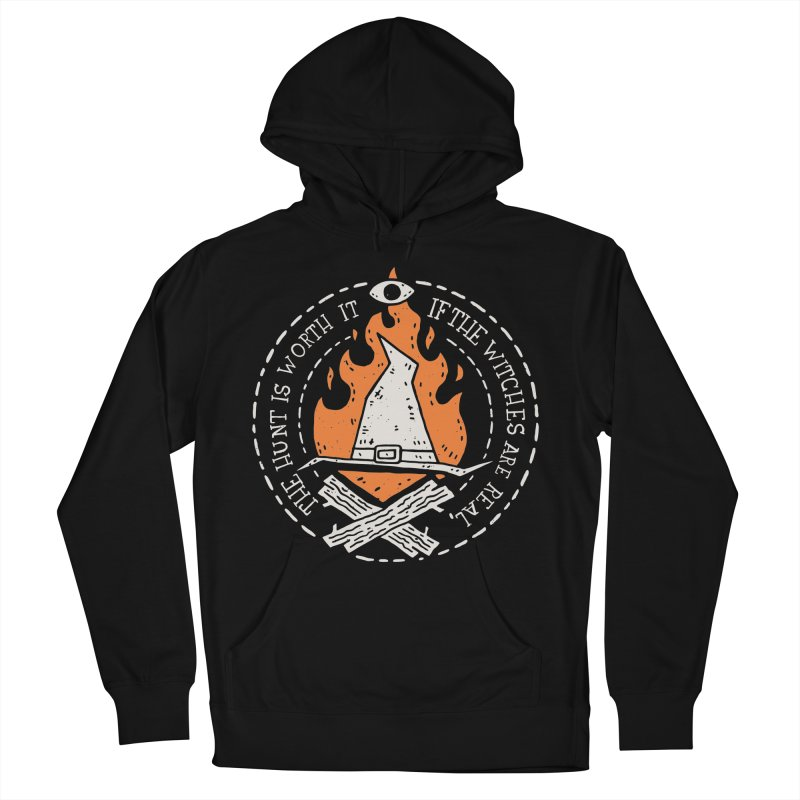 The Witch Hunt Is Real Women's French Terry Pullover Hoody by Rupertbeard
