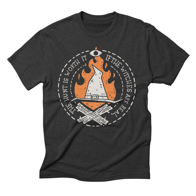 The Witch Hunt Is Real Men's Triblend T-Shirt by Rupertbeard