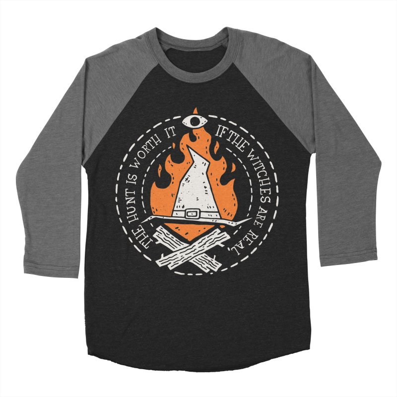 The Witch Hunt Is Real Women's Baseball Triblend Longsleeve T-Shirt by Rupertbeard