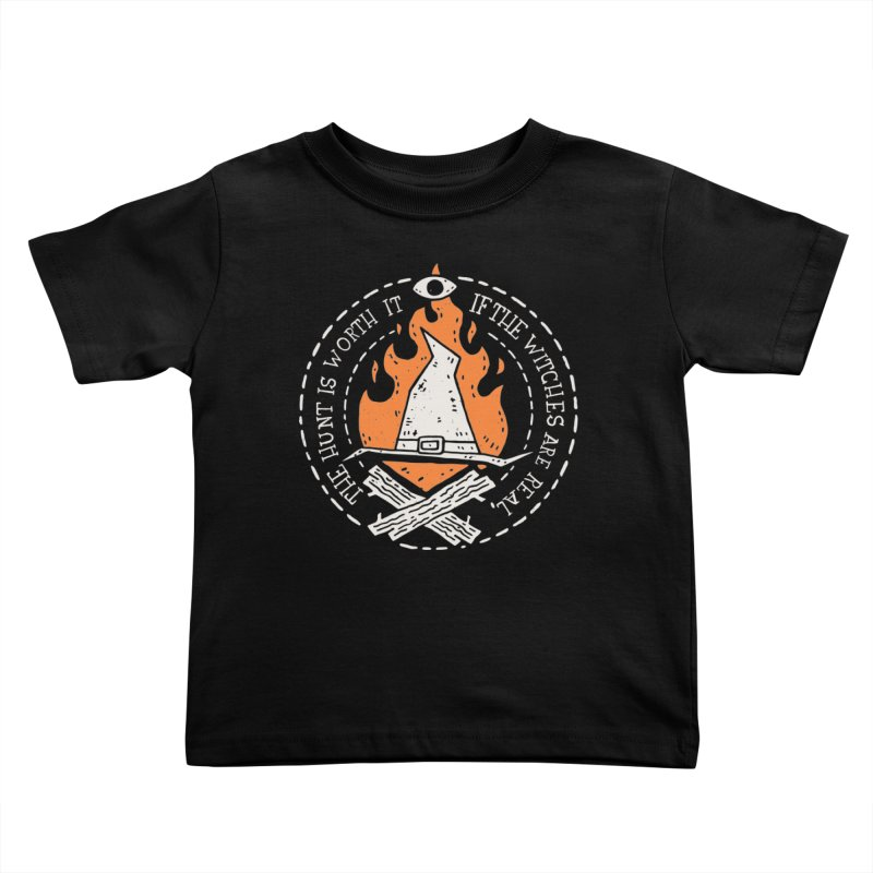 The Witch Hunt Is Real Kids Toddler T-Shirt by Rupertbeard