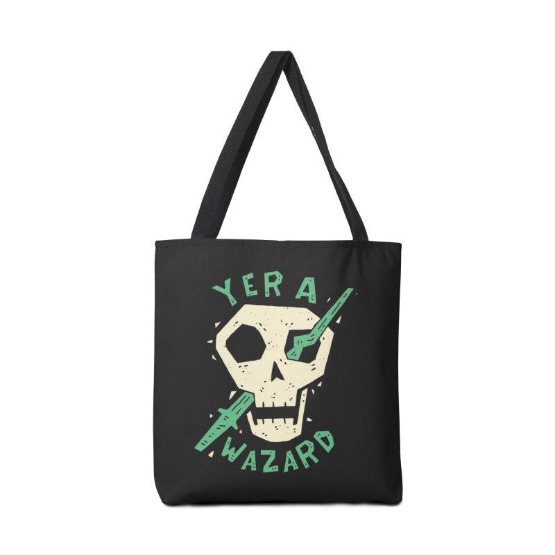 Yer A Wazard Accessories Bag by Rupertbeard