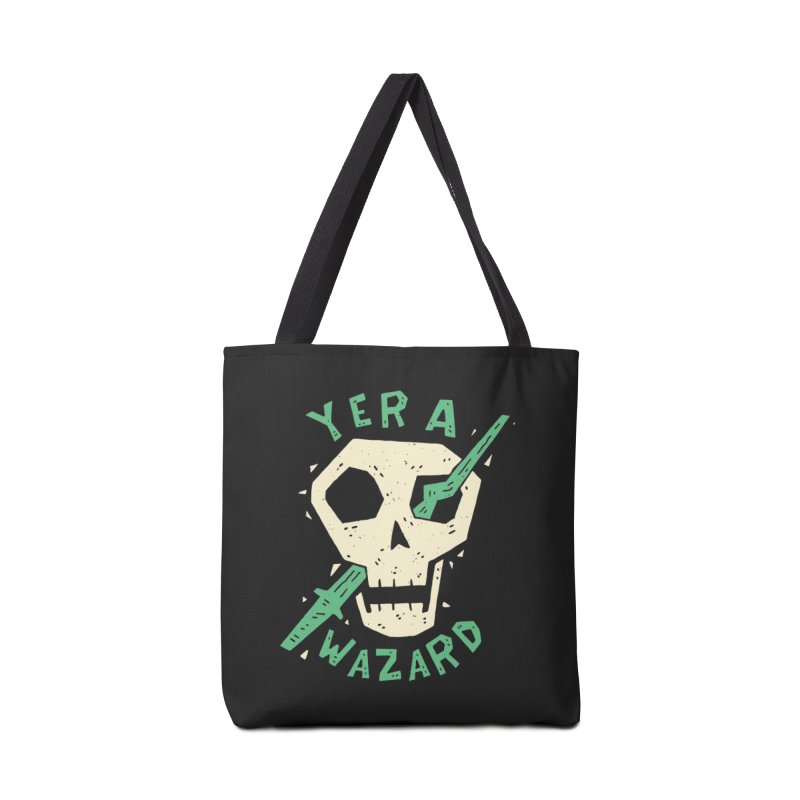 Yer A Wazard Accessories Bag by Rupertbeard