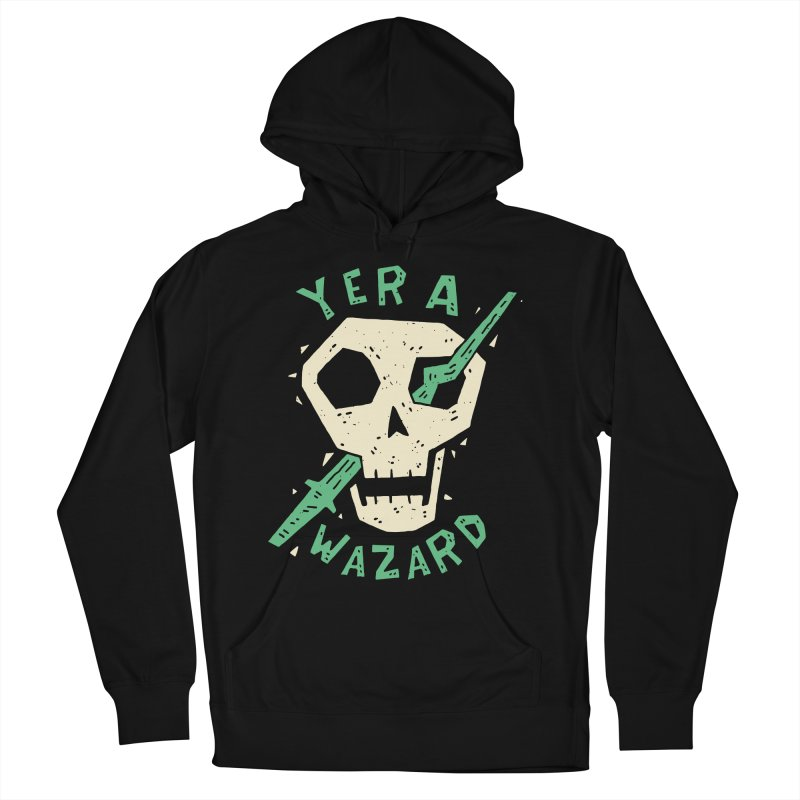 Yer A Wazard Men's French Terry Pullover Hoody by Rupertbeard