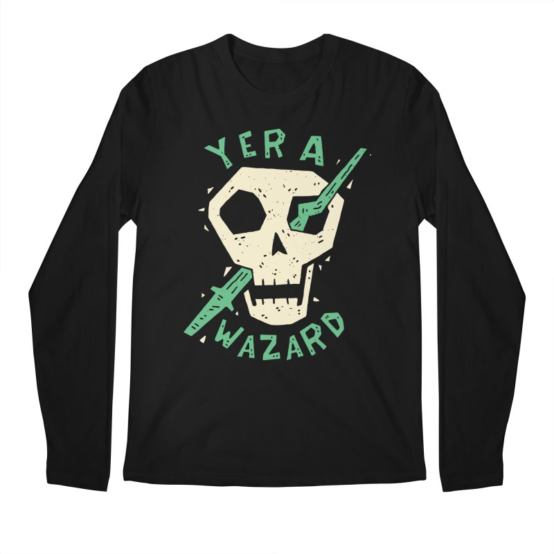 Yer A Wazard Men's Regular Longsleeve T-Shirt by Rupertbeard