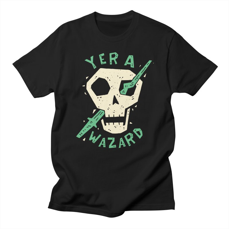 Yer A Wazard Men's Regular T-Shirt by Rupertbeard