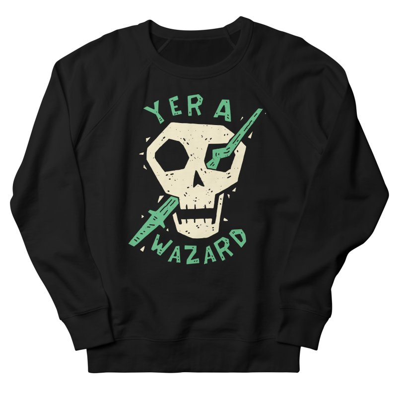 Yer A Wazard Men's French Terry Sweatshirt by Rupertbeard