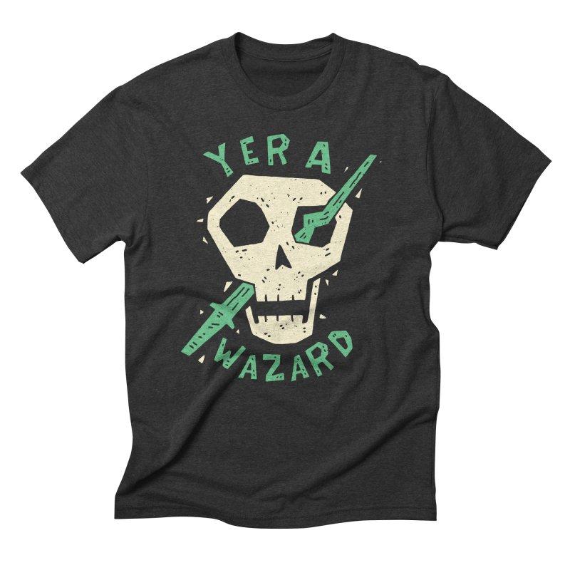 Yer A Wazard Men's Triblend T-Shirt by Rupertbeard