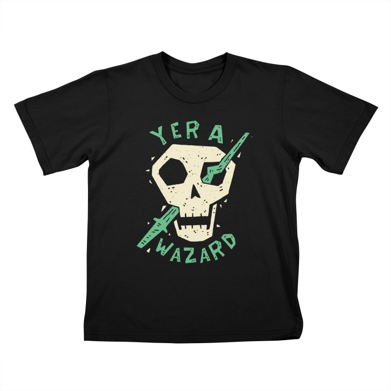 Yer A Wazard Kids T-Shirt by Rupertbeard