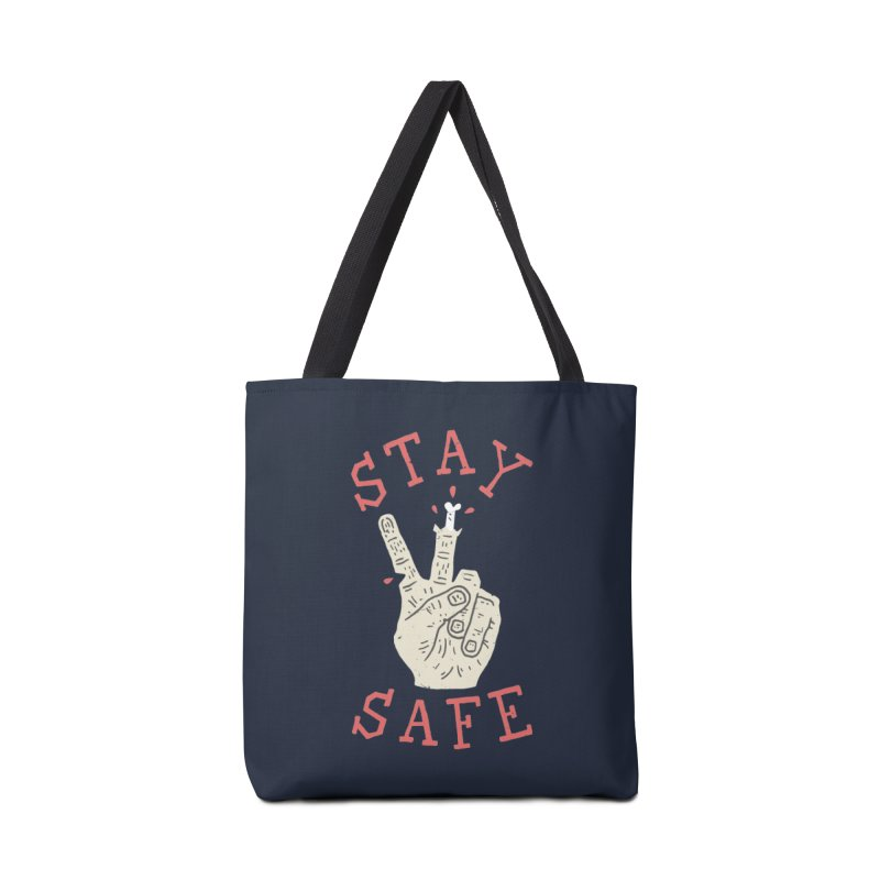 Stay Safe Accessories Tote Bag Bag by Rupertbeard