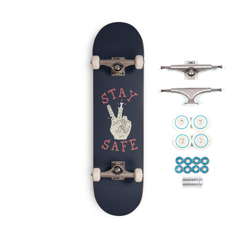 Stay Safe Accessories Complete - Basic Skateboard by Rupertbeard