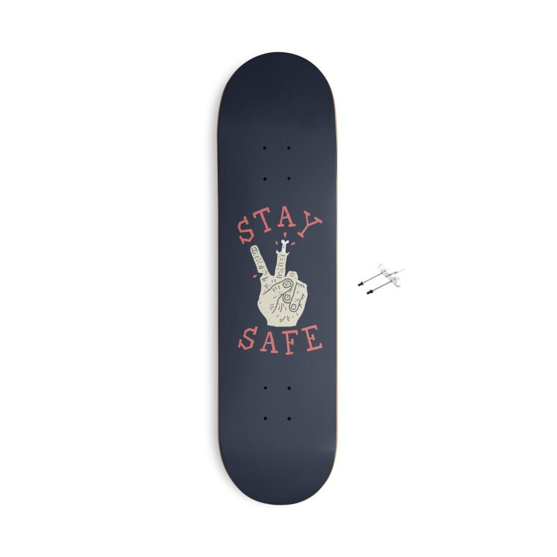 Stay Safe Accessories With Hanging Hardware Skateboard by Rupertbeard