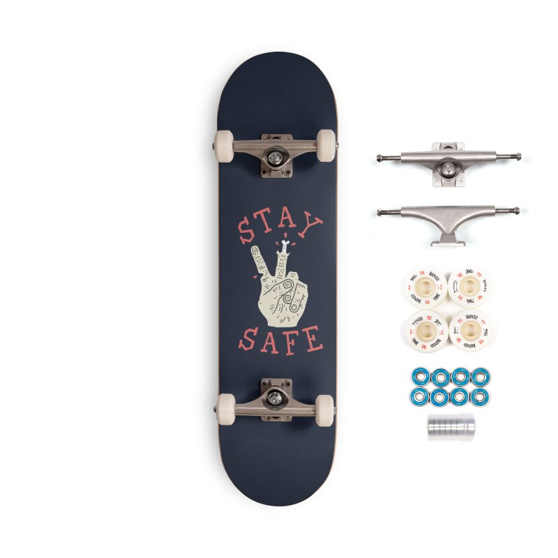 Stay Safe Accessories Complete - Premium Skateboard by Rupertbeard