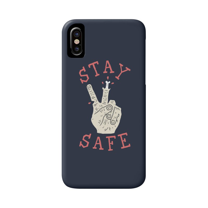 Stay Safe Accessories Phone Case by Rupertbeard