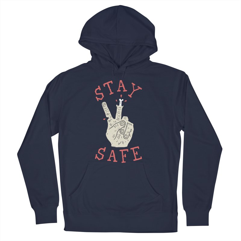 Stay Safe Men's Pullover Hoody by Rupertbeard